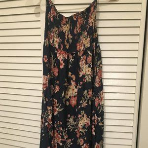 Forever 21 Floral High-low dress